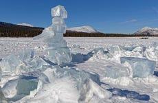 Pesca sul ghiaccio a Whitehorse