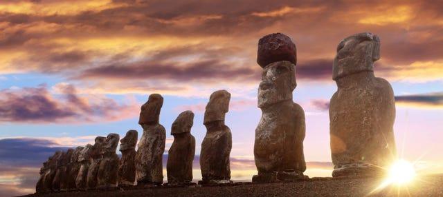 Excursión a Ahu Tongariki al amanecer