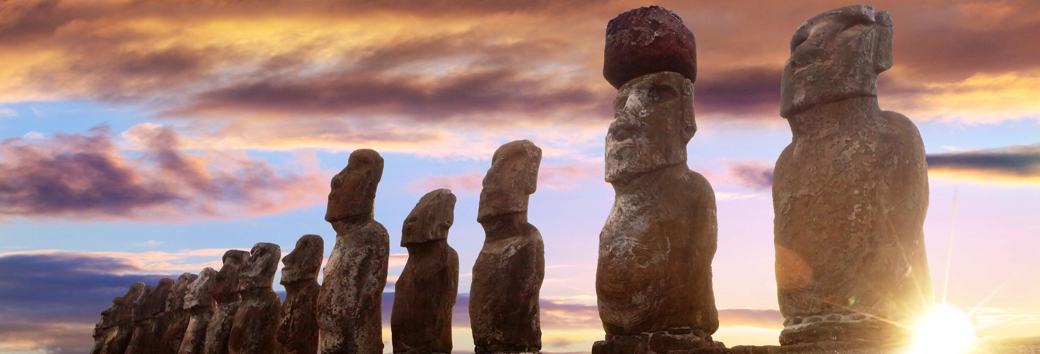 Excursion à Ahu Tongariki au lever de soleil