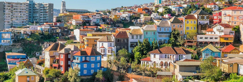 Escursione a Valparaíso e alla Valle de Casablanca per croceristi