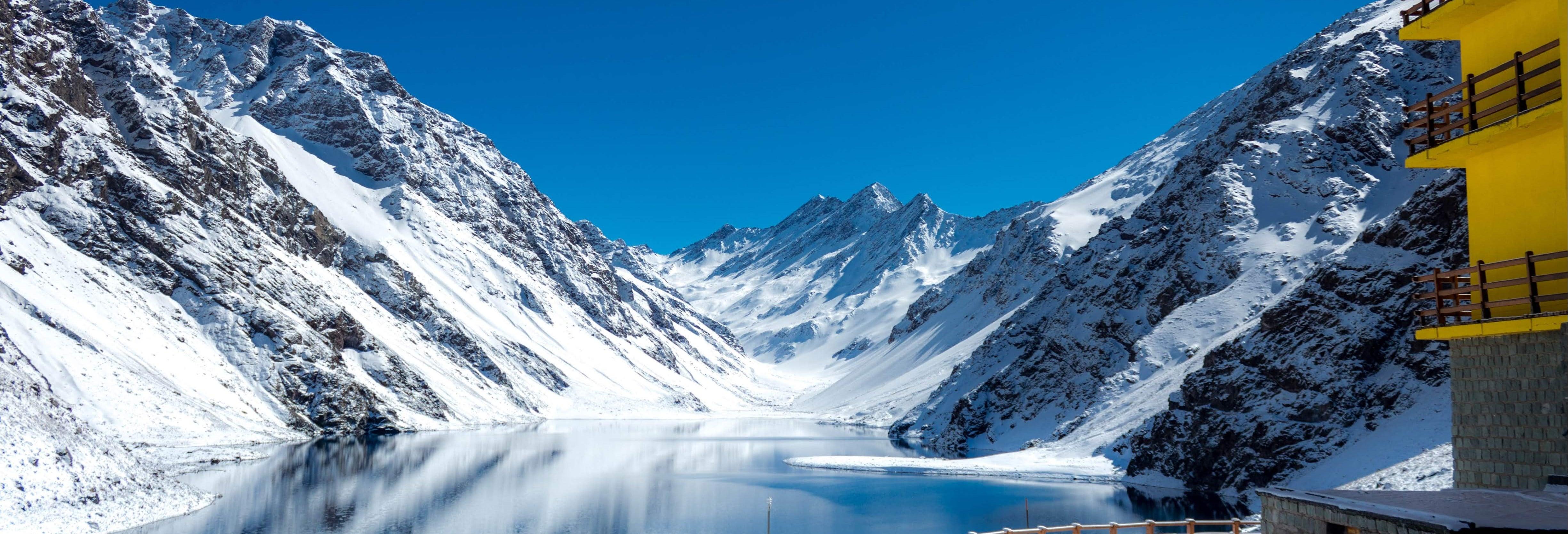 Estação de esqui Portillo e Laguna del Inca