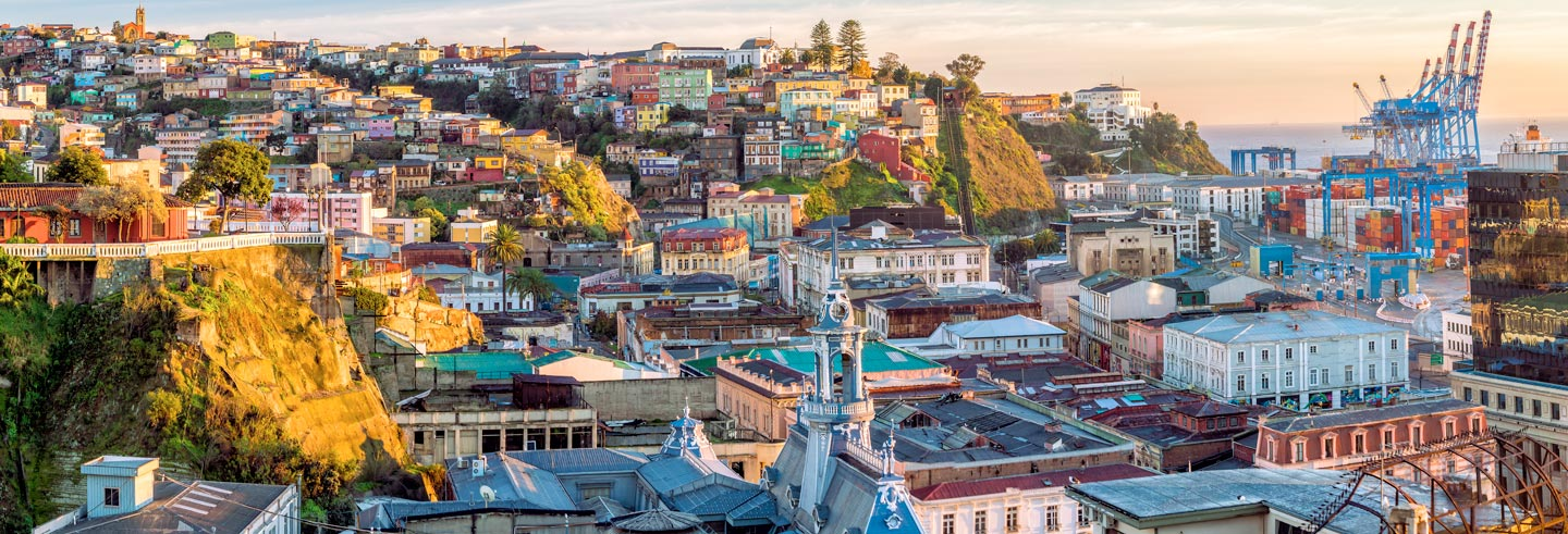 Excursion à Valparaíso et Viña del Mar