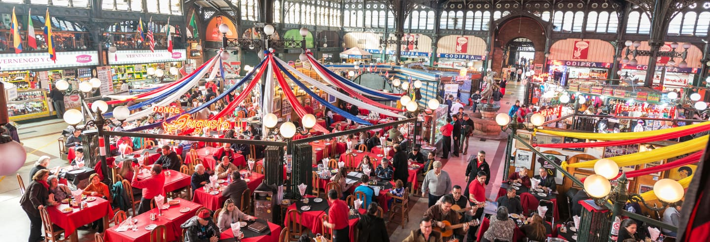 Free Walking Tour of Santiago's Markets