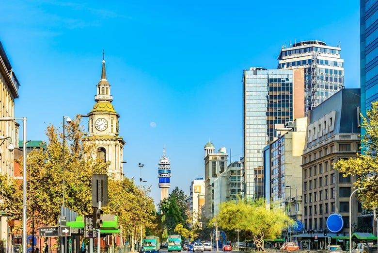 ,Tour por Santiago