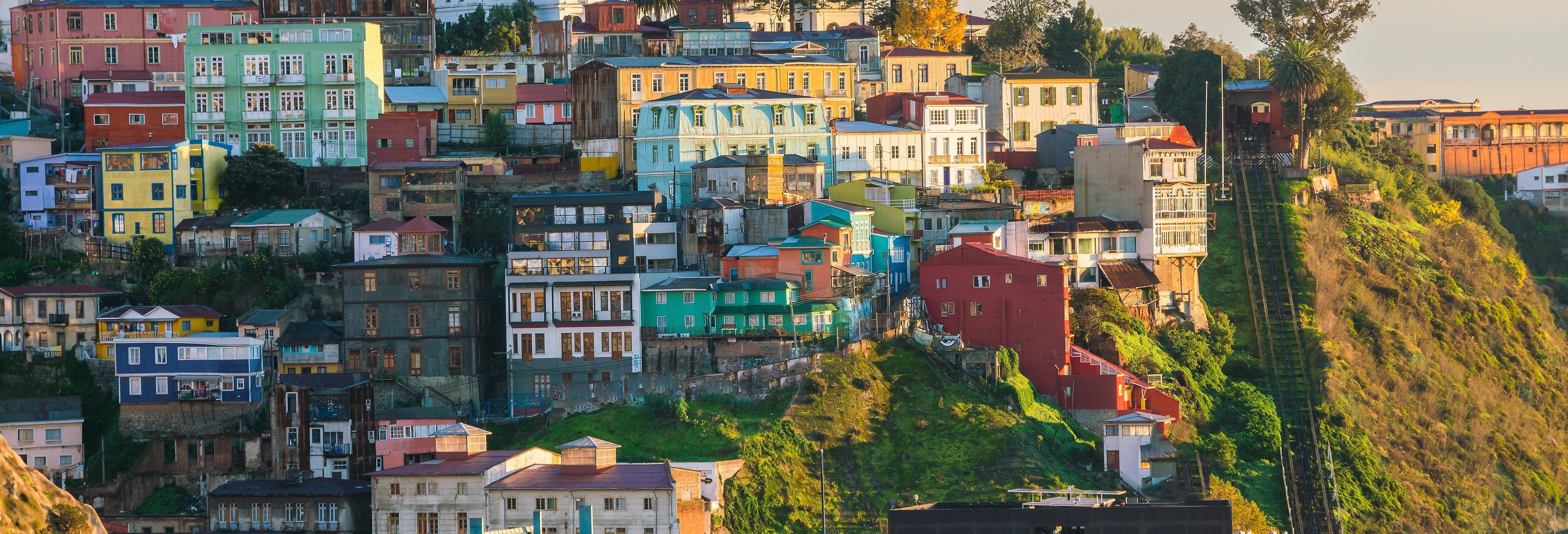 Contrastes de Valparaíso