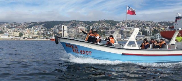 Paseo en barco por Valparaíso