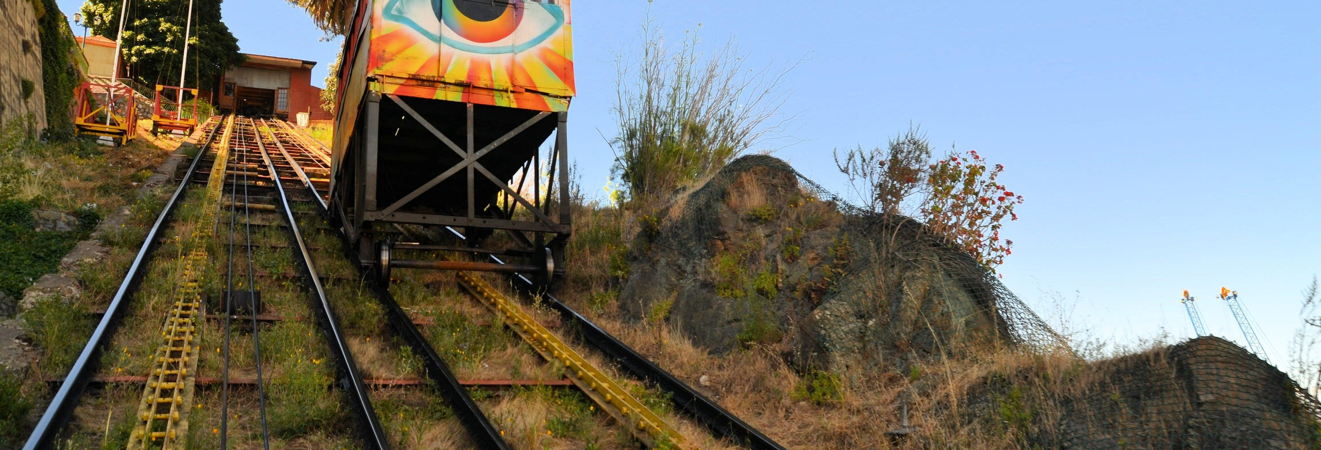 Tour dos elevadores de Valparaíso