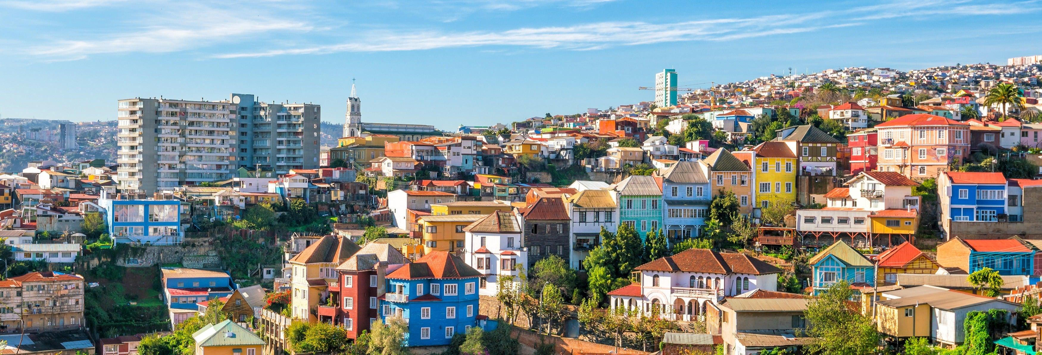 Tour panorâmico de trólebus por Valparaíso
