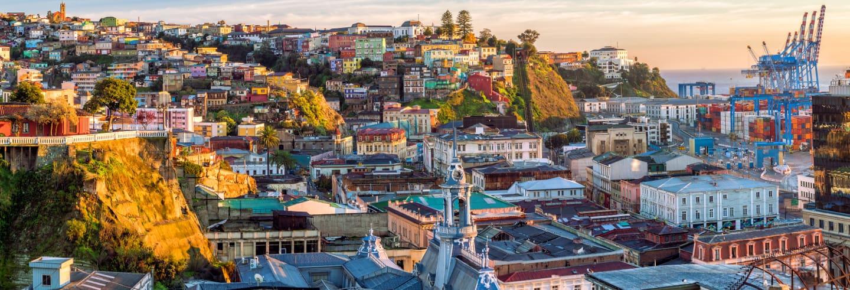 Tour panorâmico por Valparaíso