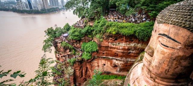 Excursión al Gran Buda de Leshan