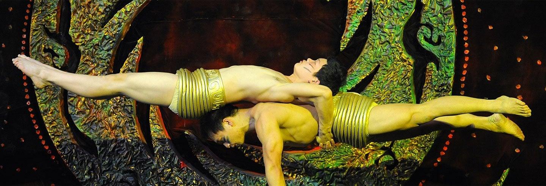Spectacle acrobatique au théâtre Chaoyang