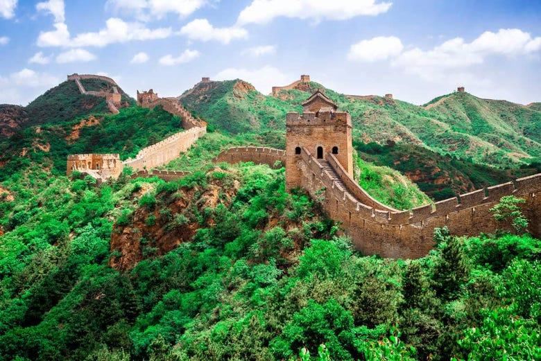 ,Excursión a la Muralla China