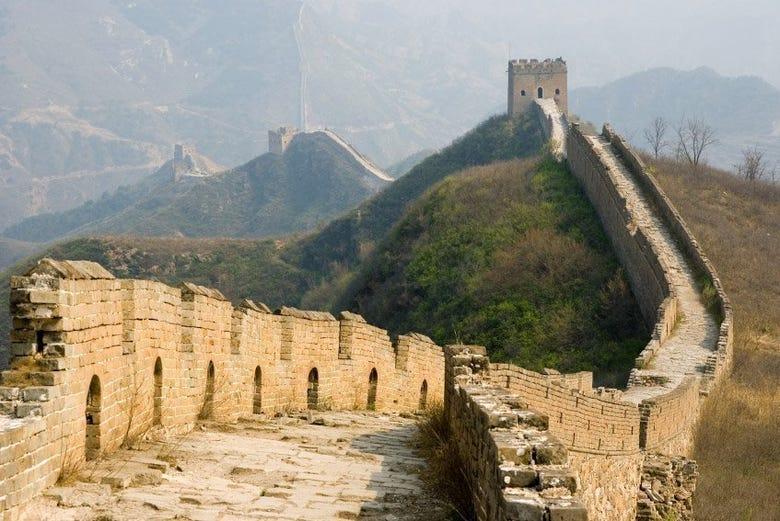 Gran Muralla China, tramo Simatai