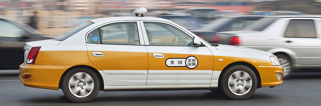 Táxis em Pequim