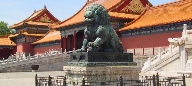 Top 3 de Pekín en un día privado en español