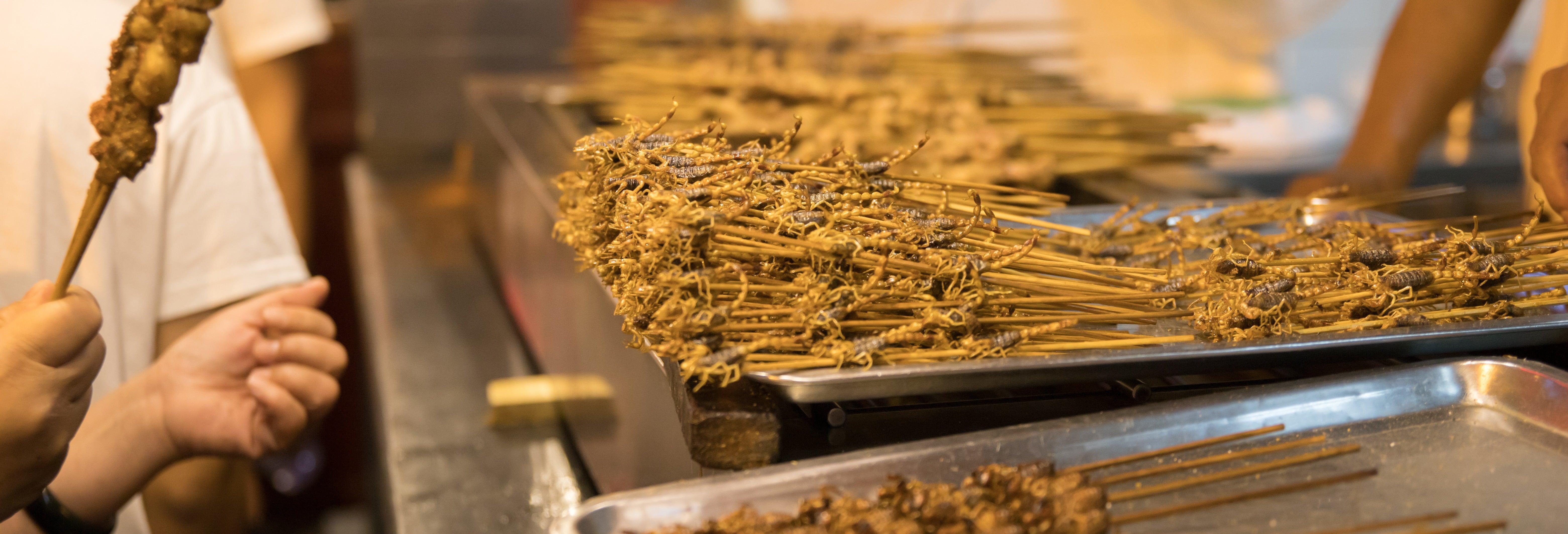 Tour por el mercado nocturno de Wangfujing