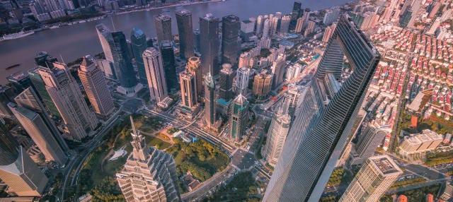 Entrada al Shanghai World Financial Center
