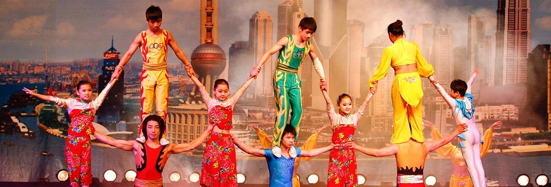 Show acrobático ERA, Shanghai Circus World