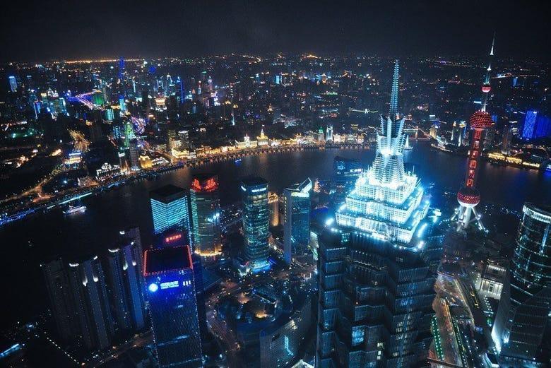 Vistas desde el World Financial Center