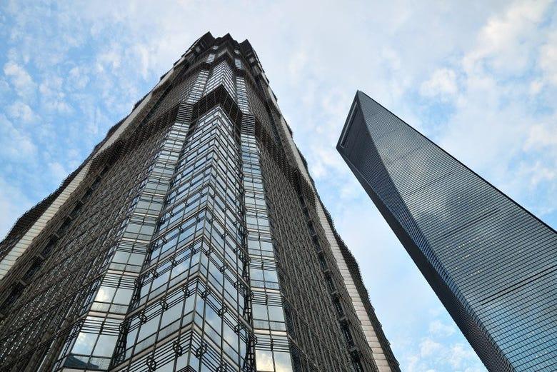 Torre Jin Mao y Shanghái World Financial Center
