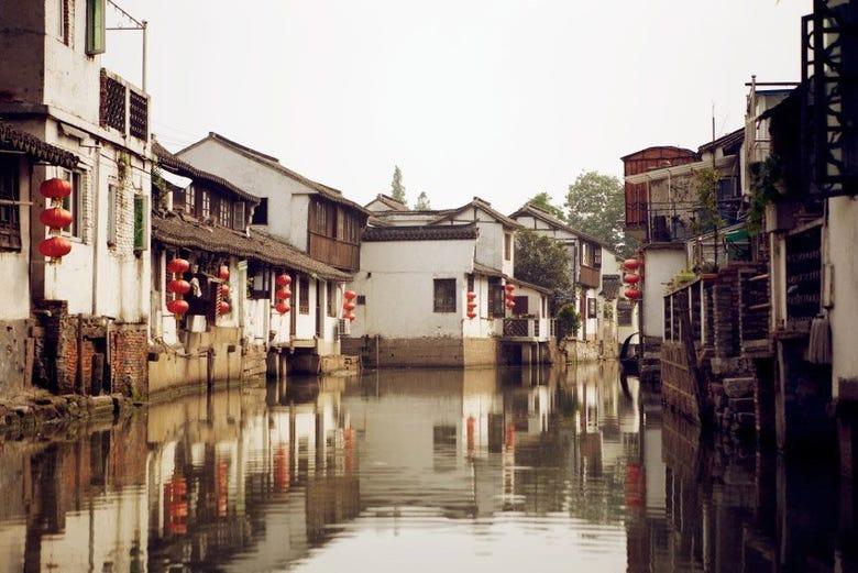 ,Excursión a Zhujiajiao