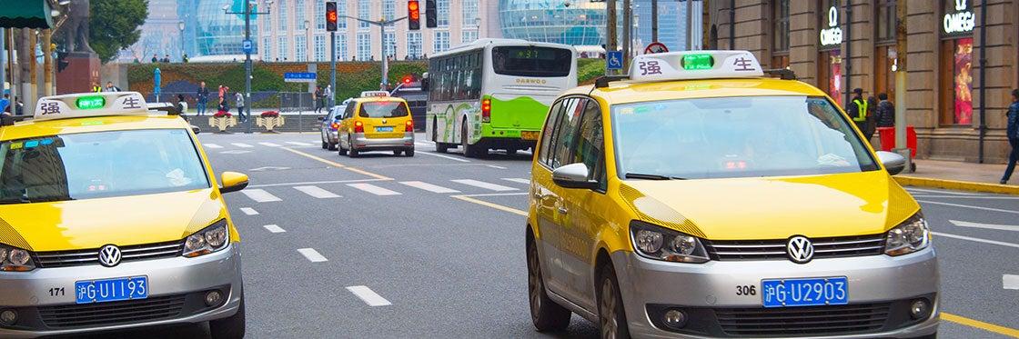Taxis en Shanghái