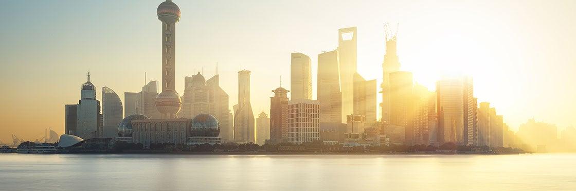 Tempo em Shanghai