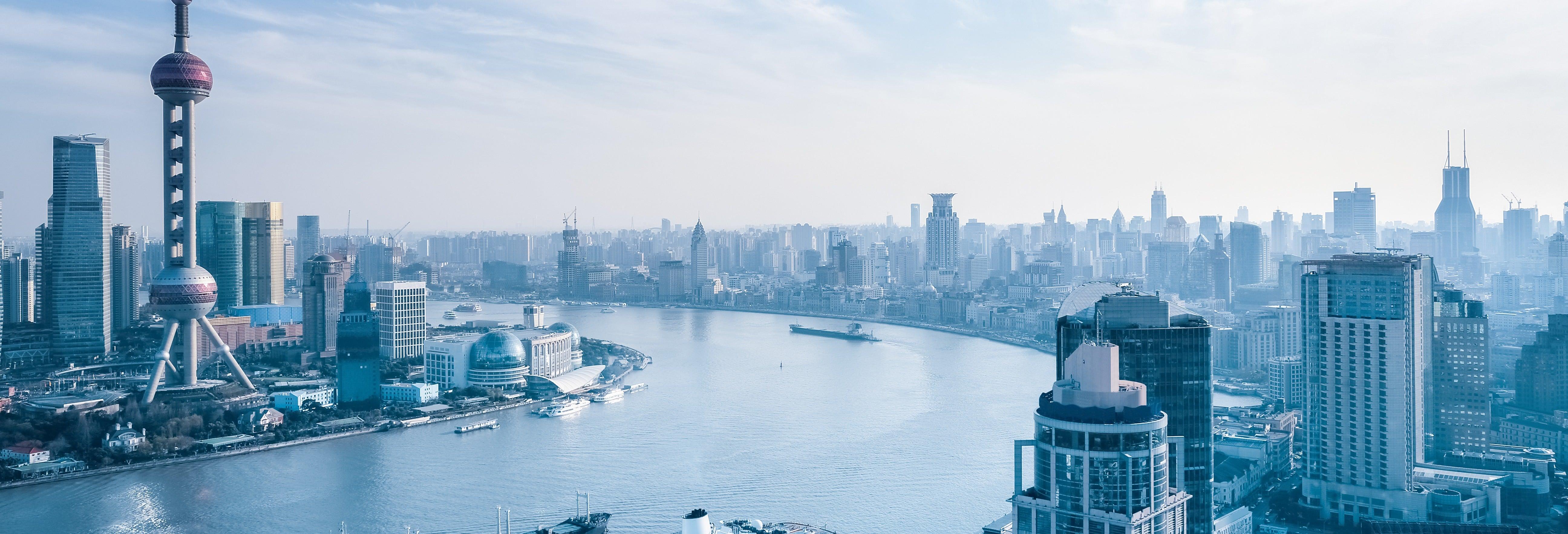 Giro in barca sul fiume Huangpu