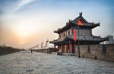 Tour delle mura di Xi'an in bicicletta