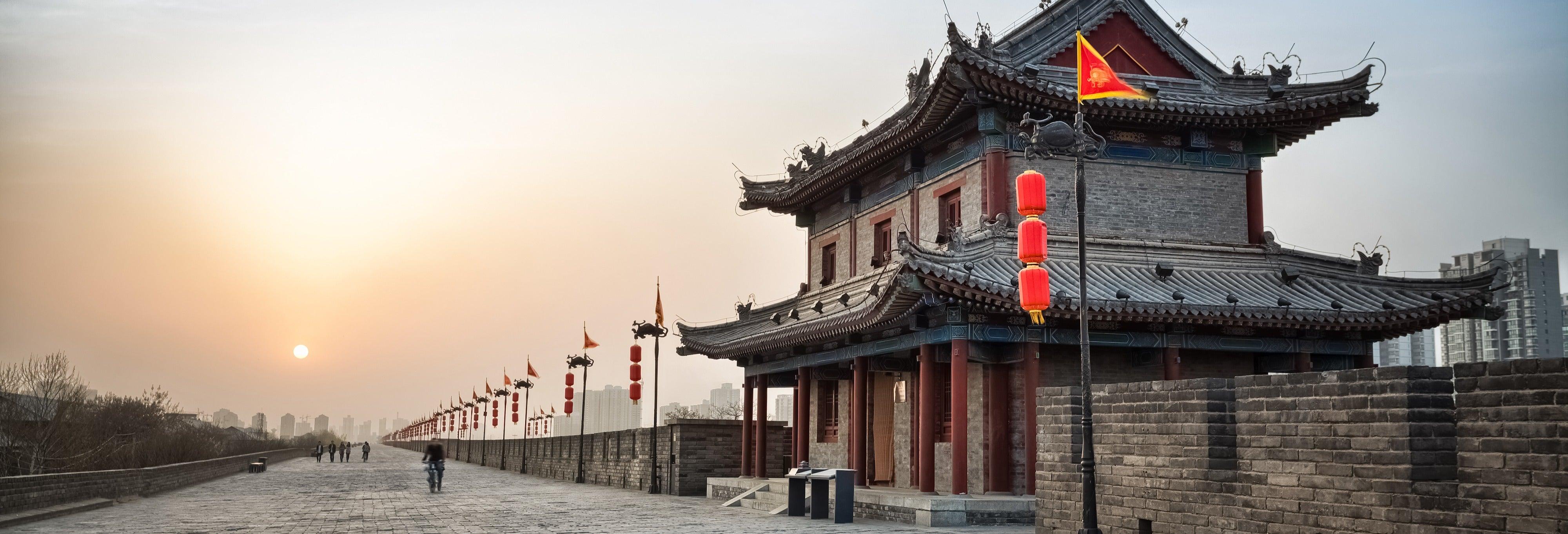 Visite guidée à vélo de la muraille de Xi'an