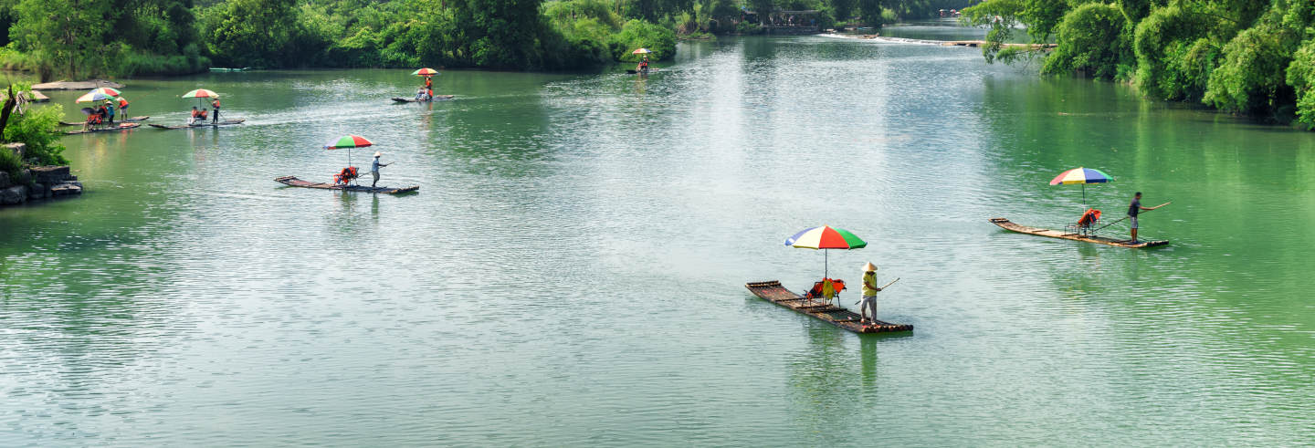 Yangshuo Bike & Bamboo Raft Tour