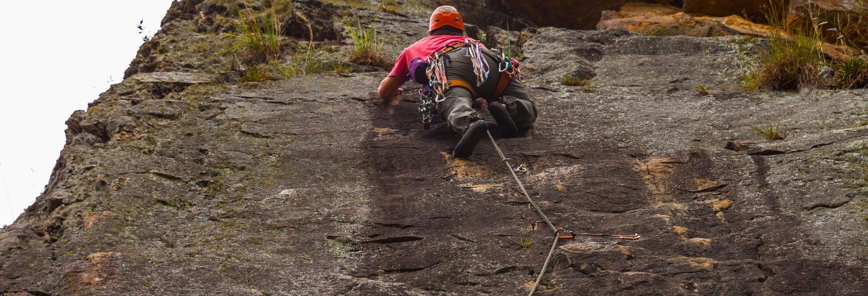 Escalada en las Rocas de Suesca
