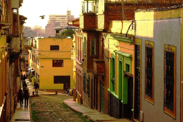 Visite autour de la politique de Bogota