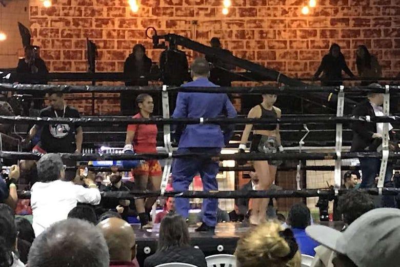 Combats de boxe à Bogota