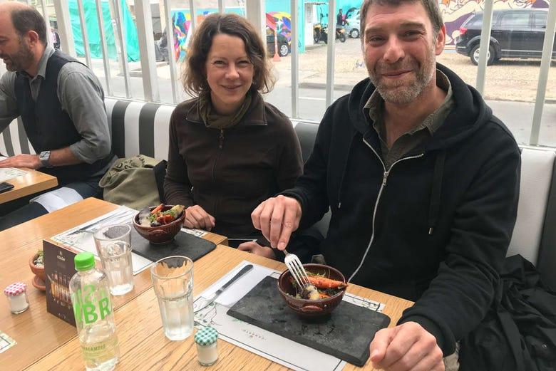 Visite gastronomique dans Bogota