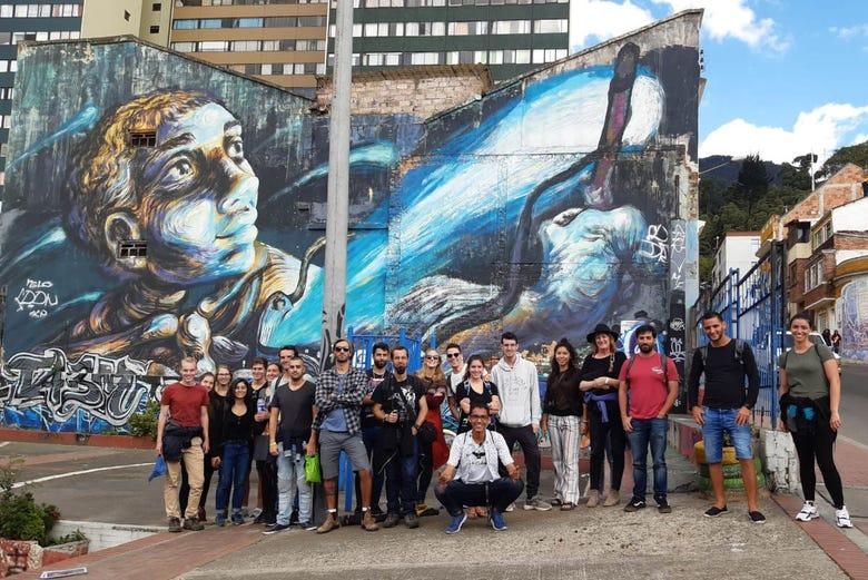 Free tour autour de l'art urbain à Bogota. C'est gratuit !