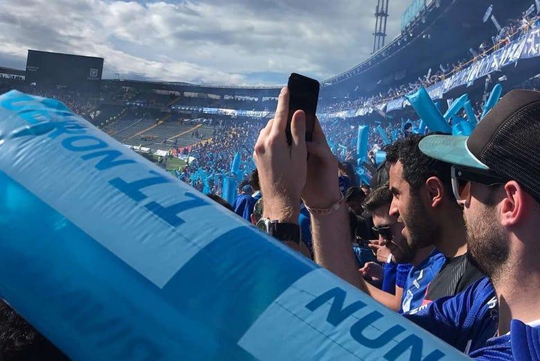 Expérience autour du football à Bogota