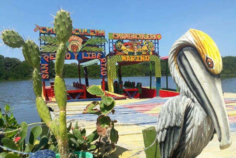 Balade en chambaculera à Carthagène des Indes