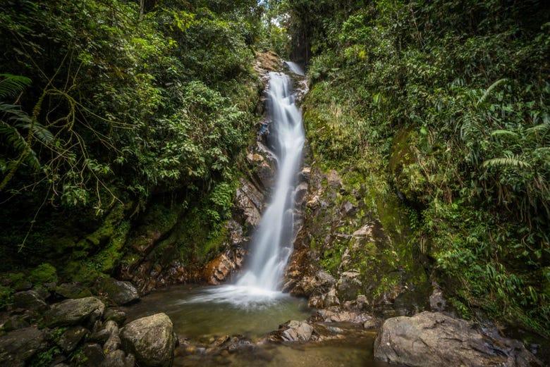 Excursion à la cascade Chorro de las Campanas
