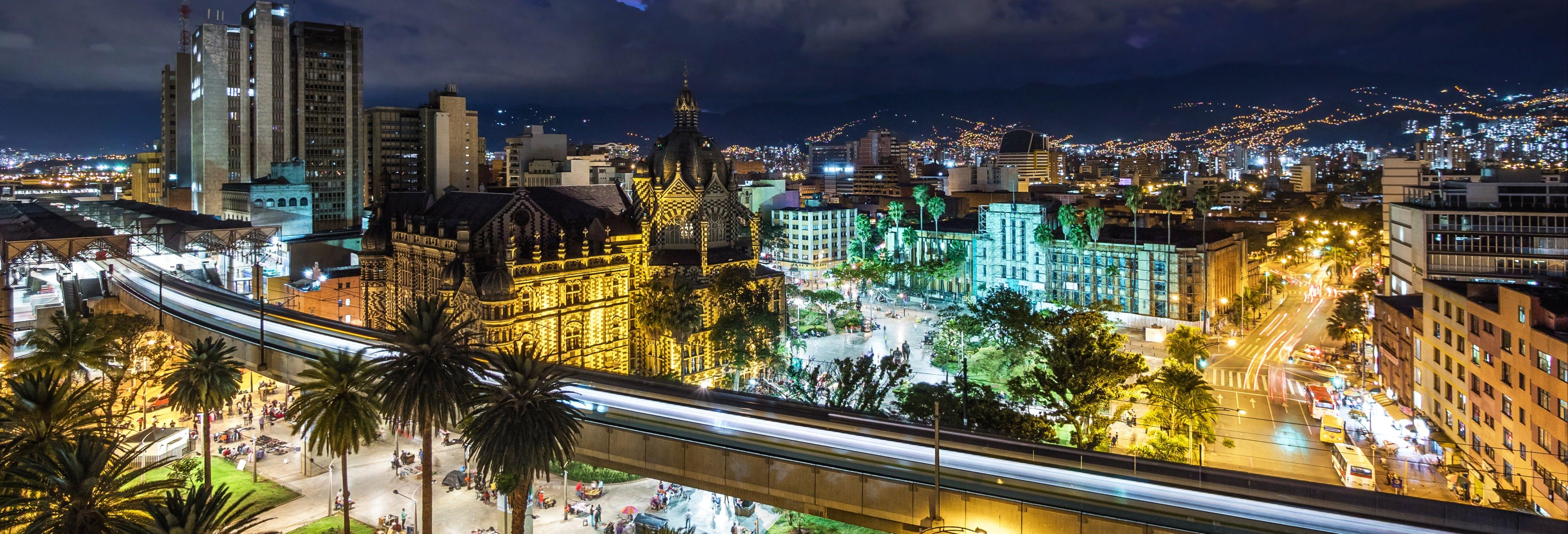 Tour privado nocturno por Medellín