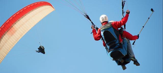 Vuelo en parapente por Medellín