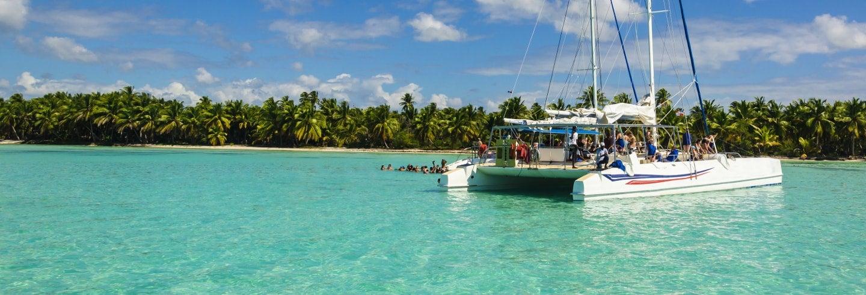 Passeio de catamarã pela baía de San Andrés