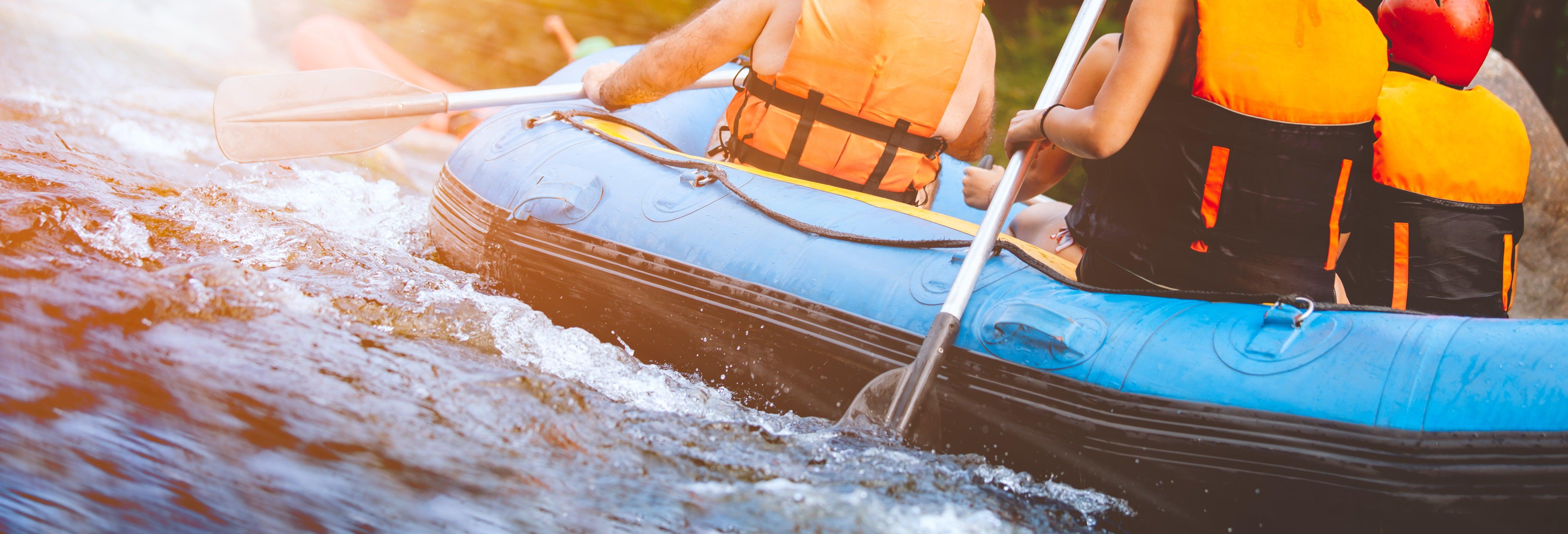Rafting en el río Fonce