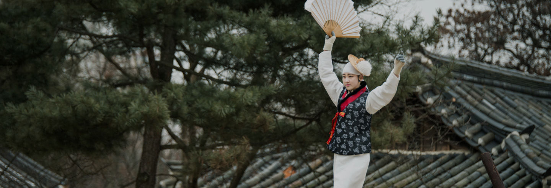 Excursión a la aldea folclórica de Corea