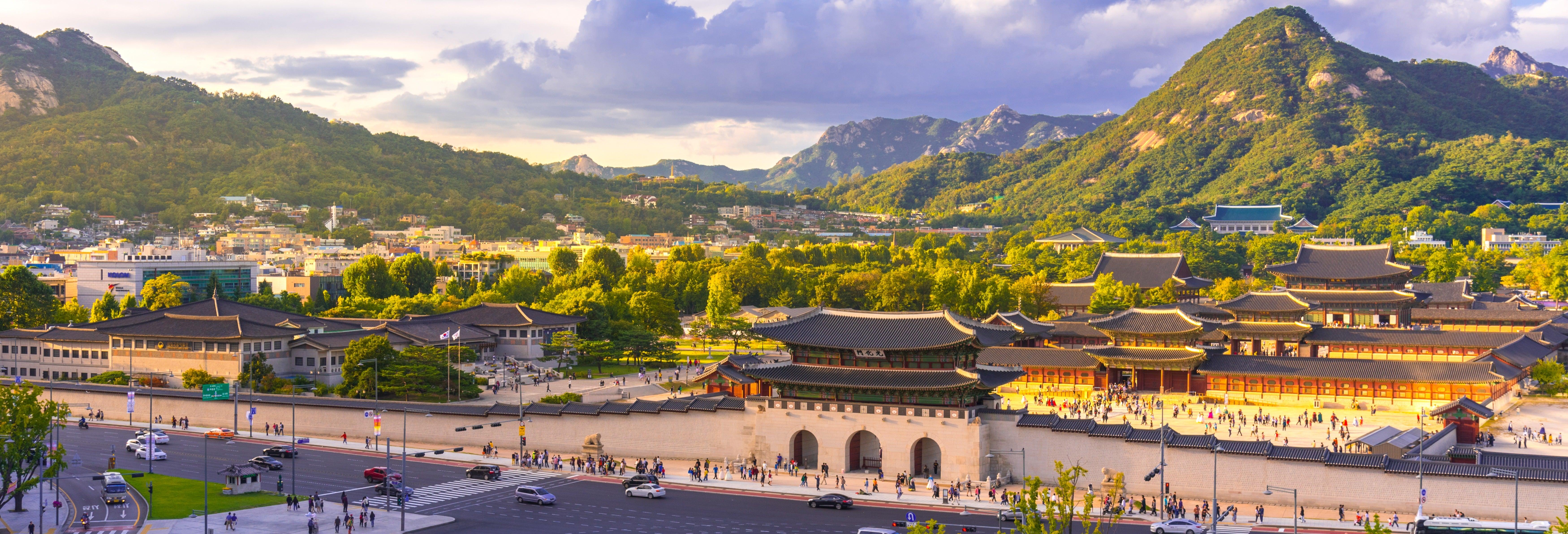 Tour pelo palácio Gyeongbokgung e Bukchon Hanok