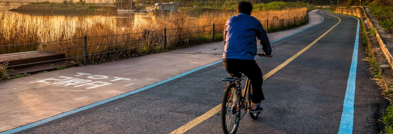 Visite à vélo dans Séoul