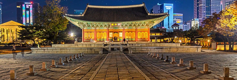 Tour noturno pelo Palácio Deoksugung