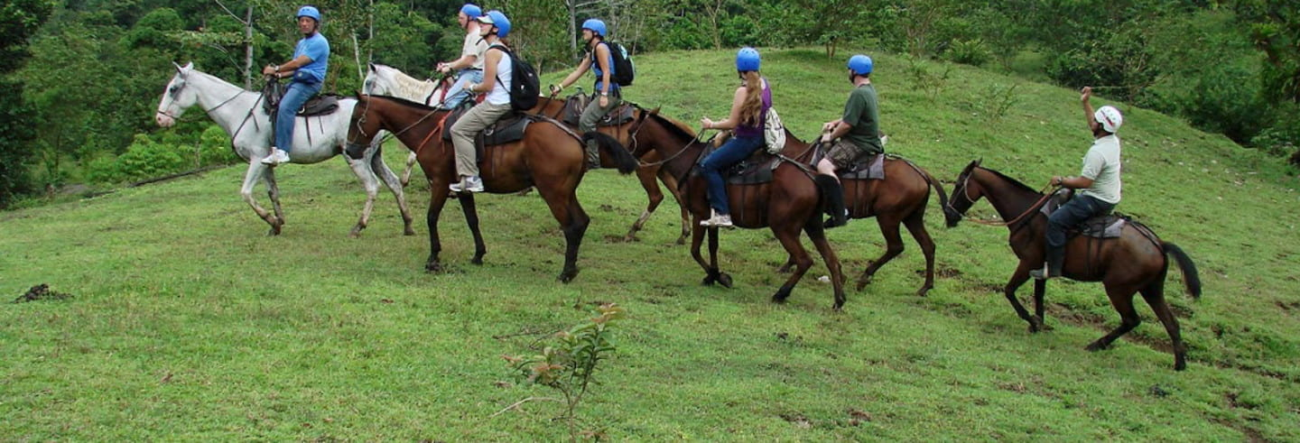 La Fortuna Waterfall Horseback Ride