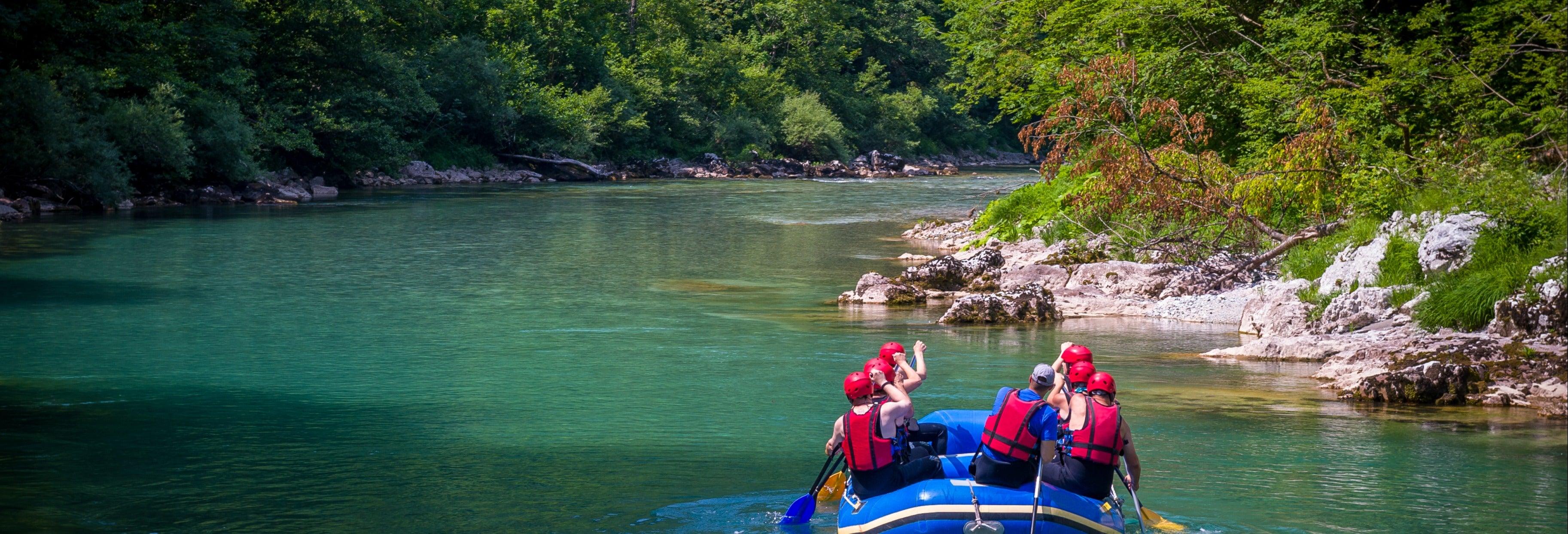 Rafting e discesa in corda doppia sul fiume Balsa