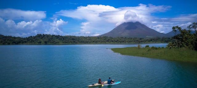 Tour de caiaque pelo Lago Arenal